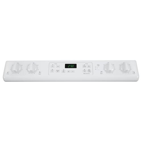 "GE® 30"" Slide-In Front Control Electric Range"