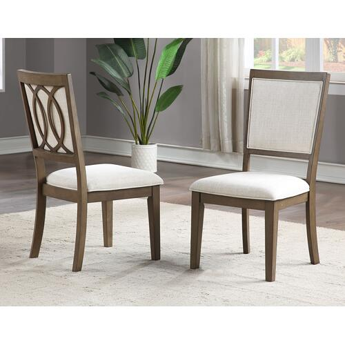 Bordeaux 5-piece Dining Set (78-inch Dining Table & 4 Side Chairs)