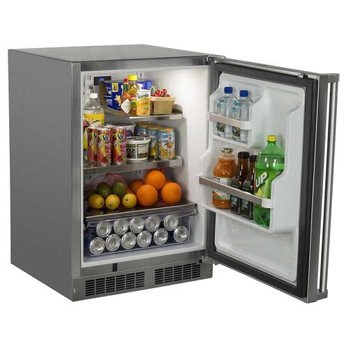 24-In Outdoor Built-In All Refrigerator With Maxstore Bin with Door Swing - Right