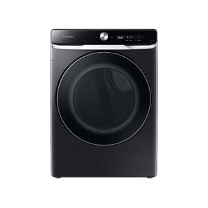 Samsung7.5 cu. ft. Smart Dial Gas Dryer with Super Speed Dry in Brushed Black