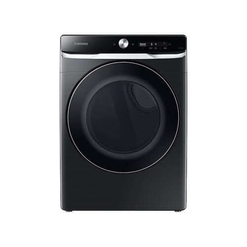 7.5 cu. ft. Smart Dial Gas Dryer with Super Speed Dry in Brushed Black