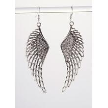 BTQ Silver Wings Earrings