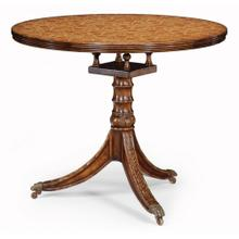 Penwork style table (Brown)