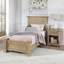 Manor House Twin Bed and Nightstand