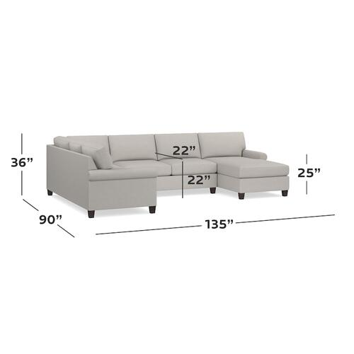 Spencer U-Shaped Sectional