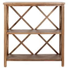 See Details - Liam Open Bookcase - Oak