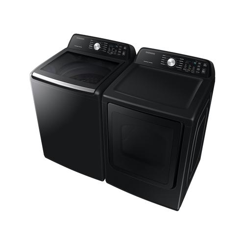 7.4 cu. ft. Gas Dryer with Sensor Dry in Black Stainless Steel