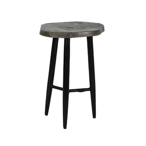 """Castelle - 17"""" Nature's Wood Occasional Table"""