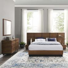 See Details - Caima 5-Piece Bedroom Set in Walnut