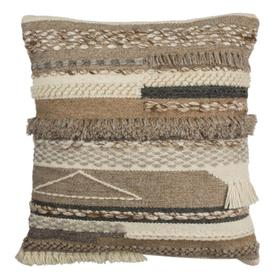 Demna Pillow - Beige / Grey