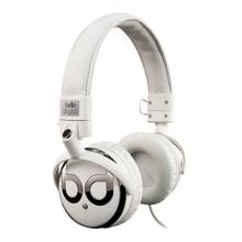 See Details - White and Chrome over-the-head headphones by Bell'O Digital