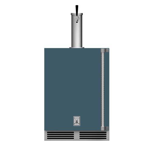 "24"" Hestan Outdoor Single Faucet Beer Dispenser - GFDS Series - Pacific-fog"