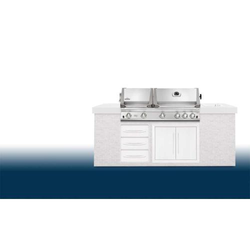 Built-In Gemini 750 with Infrared Burners - DISCONTINUED