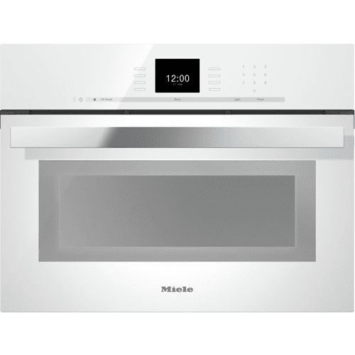 Miele - DGC 6600-1 - Steam oven with full-fledged oven function and XL cavity combines two cooking techniques - steam and convection.