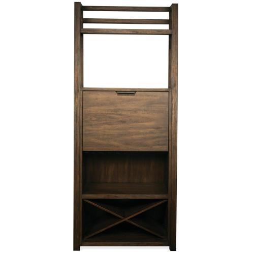 Perspectives - Bar Cabinet - Brushed Acacia Finish