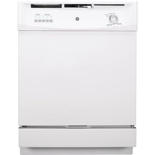 GE® Built-In Dishwasher-In white or black