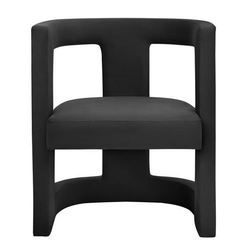 Product Image - Ada Black Velvet Chair