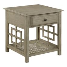 See Details - Cambridge Accent Table With Drawer