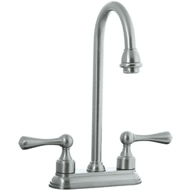 "Asbury - 4"" Centerset Bar Faucet - Brushed Nickel"