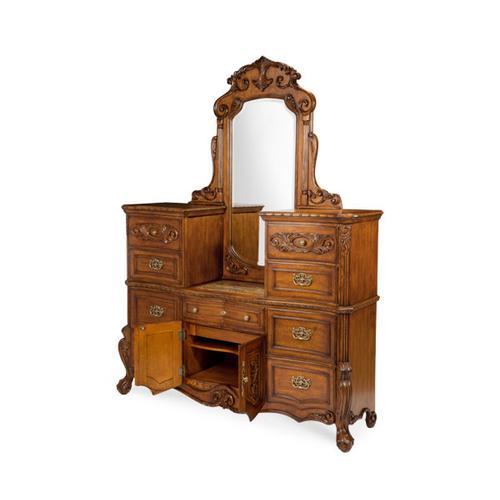 Dresser and Vertical Mirror