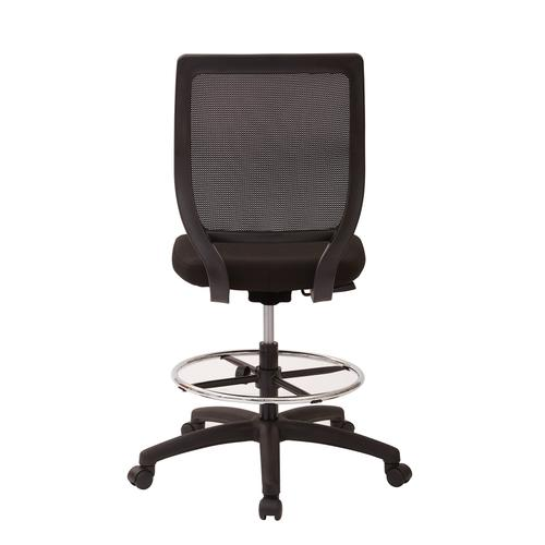 Office Star - Deluxe Woven Mesh Back Armless Drafting Chair