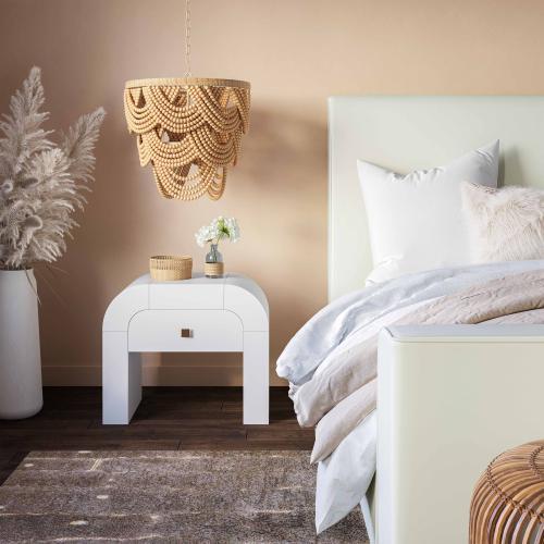 Tov Furniture - Jade Natural Bead Chandelier