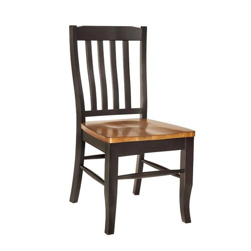 Quinton Slat Back Side Chair (rta)