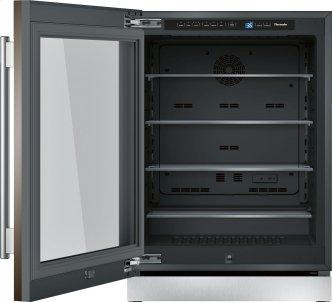 Freedom™ Glass Door Refrigeration 24'' Professional Stainless steel T24UR900LP