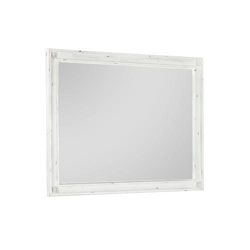 Emerald Home B312-24 Bordeaux Mirror, Antique White
