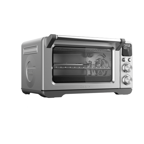 Galanz 1.1 Cu Ft Digital Toaster Oven with Air Fry in Stainless Steel