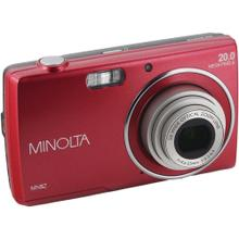 20.0-Megapixel MN5Z HD Digital Camera with 5x Zoom (Red)