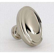 View Product - Antique Brass Oval Knob