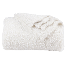 Pebble Creek Super Soft Throw Blanket - 4 Colors - White