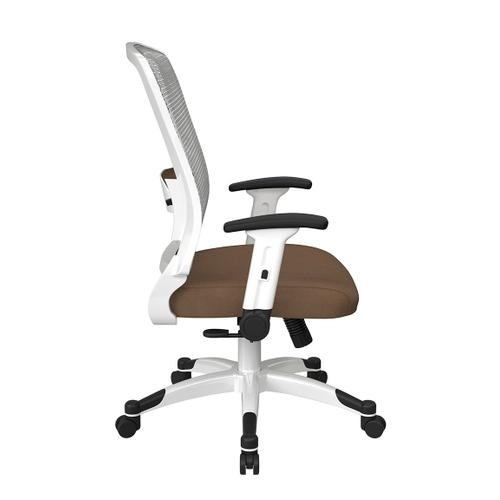 Office Star - White Frame Managers Chair