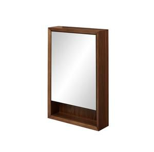 "m4 20"" Medicine Cabinet - left - Natural Walnut Product Image"