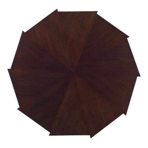 Decagonal Cocktail Table - Dark