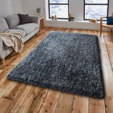 """Marble Shag Appx. 3"""" Pile Polyester Area Rug by Rug Factory Plus - 2' x 3' / Stellar Blue"""