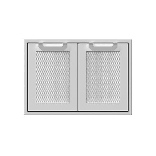 "30"" Hestan Outdoor Double Storage Doors - AGSD Series - Sol"
