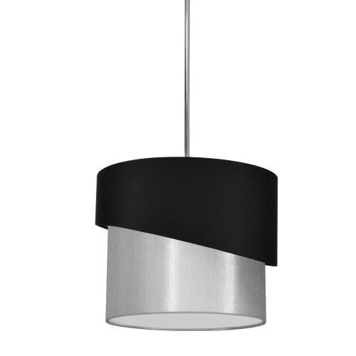 1lt Jazlynn Pendant, Black/grey Shade W/ 790 Diff