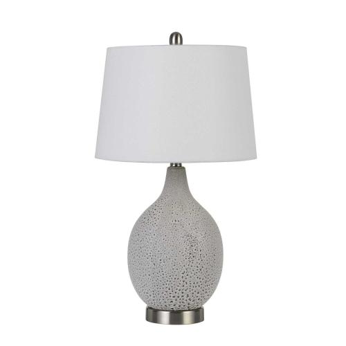 Edessa 100W On Off Ceramic Table Lamps (Sold And Priced As Pairs)