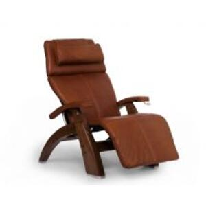 Perfect Chair ® PC-420 Classic Manual Plus - Cognac Premium Leather - Walnut