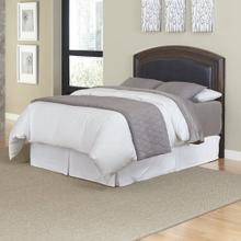 See Details - Crescent Hill Queen/Full Leather Upholstered Headboard