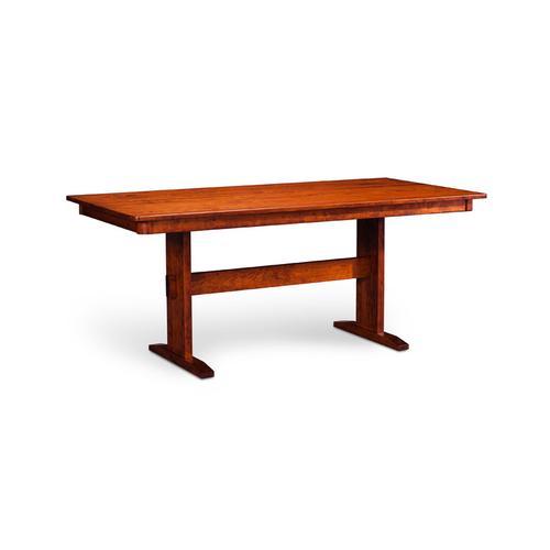 """Product Image - Shenandoah Trestle II Table, Shenandoah Trestle II Table, 42""""x96"""", 1-32"""" Stationary Butterfly Leaf"""
