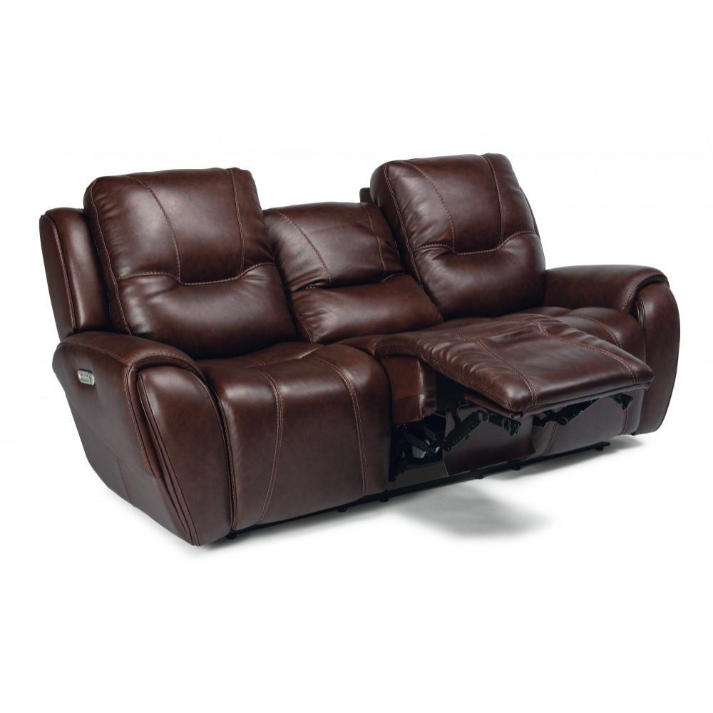 Trip Triple Power Reclining Sofa with Power Headrests
