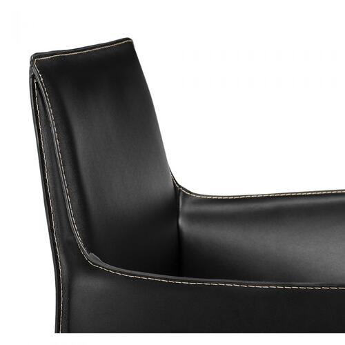 Jada Arm Chair - Black