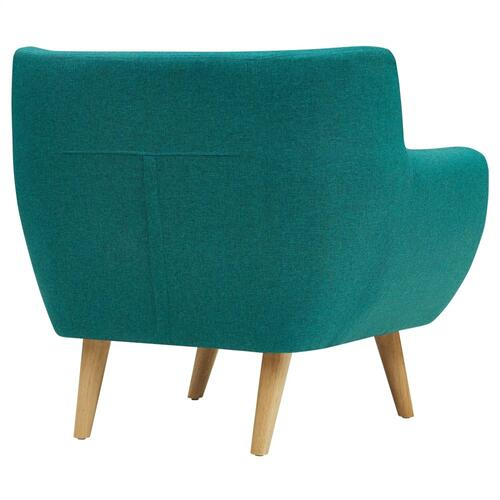 Modway - Remark Upholstered Fabric Armchair in Teal