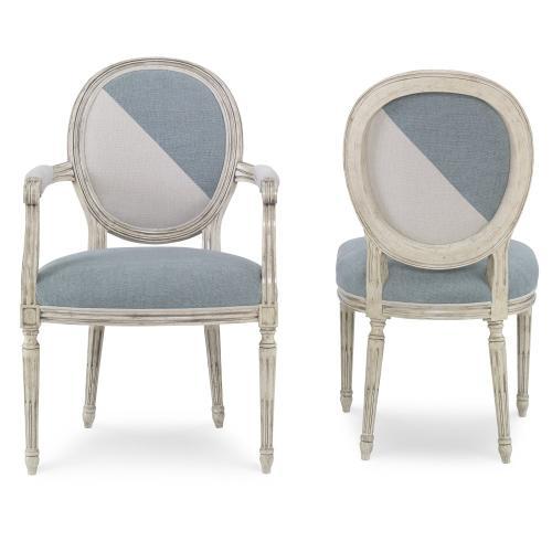 Dauphin Dining Room Arm Chair