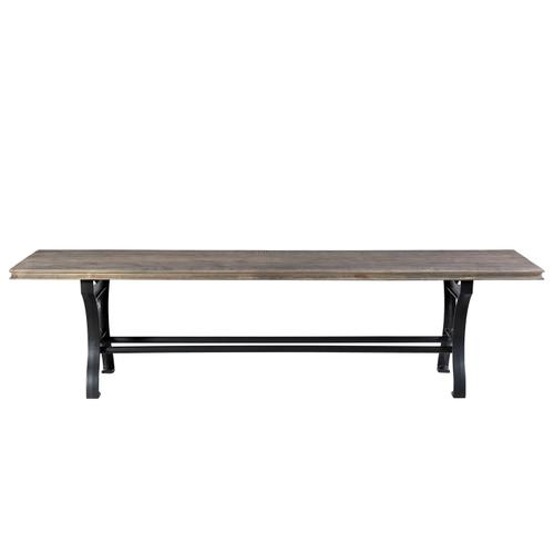 Revival - Dining Bench - Spanish Grey Finish