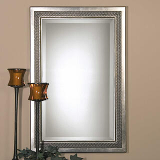 Triple Beaded Mirror