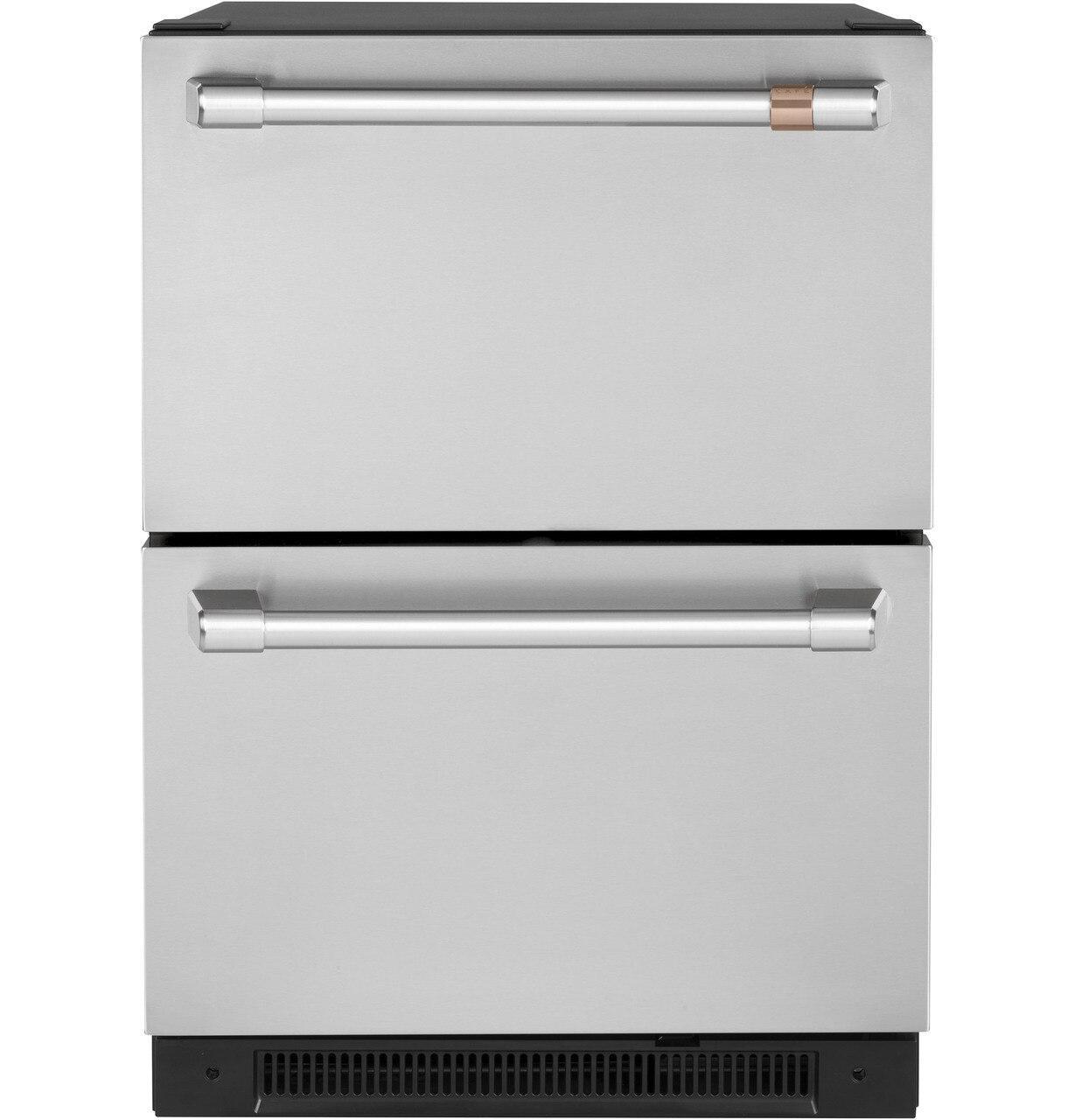 Cafe Appliances5.7 Cu. Ft. Built-In Dual-Drawer Refrigerator